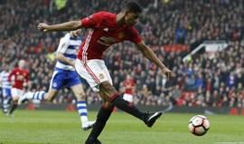 Mourinho 'aposta' em Rashford para bater recorde de golos de Rooney no United