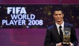 Ronaldo, a colecionar títulos de melhor do Mundo desde 2008