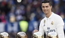 Ronaldo:Um ano de sonho com meta em 2017
