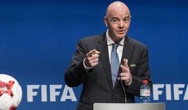 Infantino diz que alargamento do Mundial é questão desportiva e não económica
