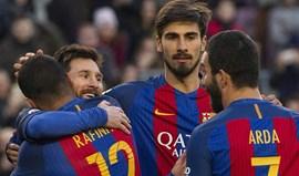 'Manita' do Barcelona diante de um Las Palmas sem resposta
