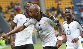 André Ayew não falha e Gana bate Uganda