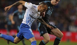 Málaga sem Sandro Ramírez durante um mês