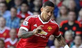 Lyon revela que tem acordo com Manchester United por Depay