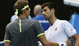 Djokovic 'tira o chapéu' a Denis Istomin