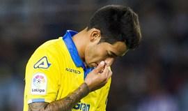 Sergio Araújo deixa Las Palmas rumo ao AEK