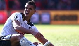 Lamela nega que recuperação demorada tenha a ver com problema extra-futebol