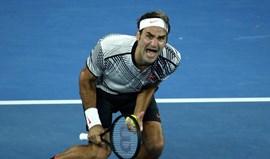 Federer festejou em grande a conquista do Open da Austrália