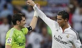 Casillas e os assobios a Ronaldo: «Às vezes não dá para entender...»
