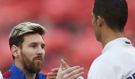 Messi e Ronaldo são desportistas estrangeiros com melhor imagem publicitária em Espanha