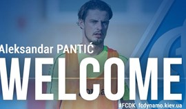 Ucrânia: Aleksandar Pantic é reforço do Dínamo Kiev