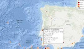 Sismo de magnitude 3,7 registado em Porto de Mós