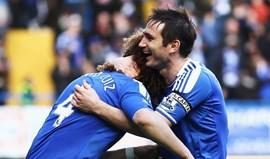 David Luiz despede-se de Lampard: «Não fiques muito gordo, ok?»