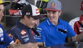 MotoGP: Marc Márquez vê Viñales mais rápido do que Rossi