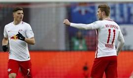 Leipzig sem três titulares em Dortmund devido à gripe