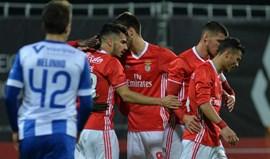 Benfica B-Vizela, 2-1: Águia dominadora consegue o triunfo