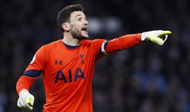 Hugo Lloris é a alternativa se Courtois falhar