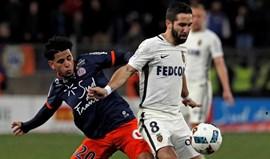 Monaco vence Montpellier e mantém liderança isolada da Ligue 1
