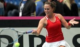 Michelle alcança melhor vitória em quase 2 anos mas Portugal perde na Fed Cup