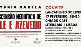 António Varela apresenta livro sobre percurso de Vale e Azevedo