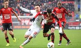 Nice empata (2-2) com o Rennes e atrasa-se