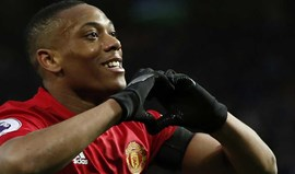 Se Martial marcar mais um golo... o Manchester United terá de pagar 10 milhões