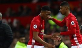 Martial e Rashford podem 'financiar' avançado de topo para o United