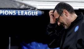 Sarri: «Tenho a certeza de que o San Paolo será um inferno»