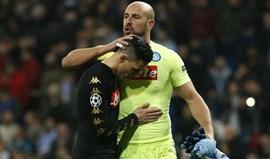 Pepe Reina deixa um aviso ao Real Madrid: «Espera-os um San Paolo quentinho»