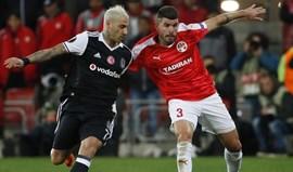 Zenit e Besiktas com sortes diferentes em noite europeia