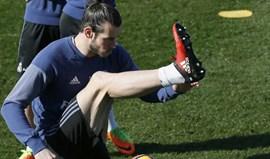 Bale regressa após dois meses e meio