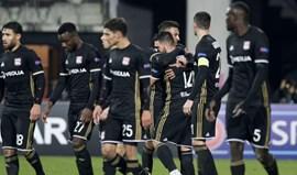 Três golos em dez minutos valem triunfo ao Lyon