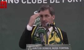 Bruno de Carvalho 'cita' Paulo Futre em discurso
