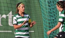 Solange Carvalhas faz 'poker' e Sporting goleia (6-1)