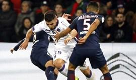 Paris SG não aproveita deslize do Monaco