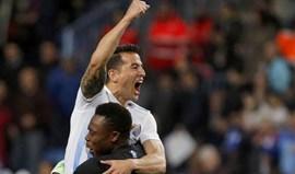 Málaga regressa às vitórias nove jogos depois