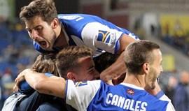 Erro do guarda-redes do Las Palmas dá vitória à Real Sociedad