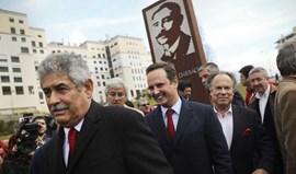 Luís Filipe Vieira: «Monumento de Cosme Damião é uma inspiração para o tetra»