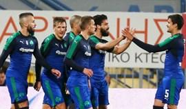 Grécia: Panathinaikos e AEK Atenas nas meias-finais da Taça
