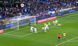 Cabeceamento imparável de Ronaldo salva o Real Madrid