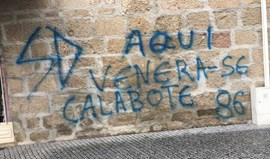 Restaurante do pai do árbitro do Estoril-Benfica vandalizado
