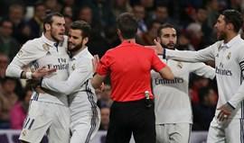 Dois jogos de castigo para Gareth Bale