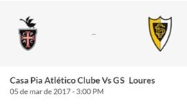 Casa Pia-Loures (Campeonato de Portugal Prio)