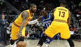 Cavaliers batem recorde de triplos da NBA