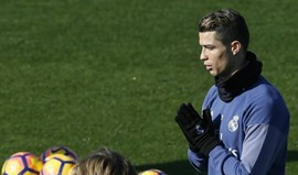 Assim foi o treino do Real Madrid em Nápoles
