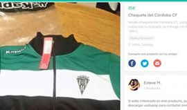 Jogador do Córdoba coloca casaco do clube à venda... mas tudo tem uma explicação