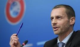 Presidente da UEFA quer unir o futebol e proteger a sua integridade