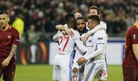 Lyon ganha vantagem (4-2) frente à Roma