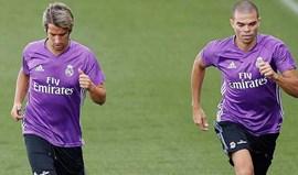 Pepe falha convocatória por problemas físicos