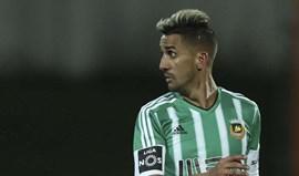 Rúben Ribeiro é baixa para receção ao Moreirense